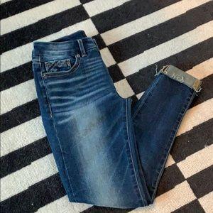 Buckle Black - Sz 25 - Ankle Skinny Jeans